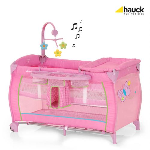 Hauck Baby Centre Travel Cot (Butterfly)